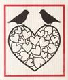 Kjøkkenklut Hjerte