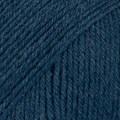 Drops Fabel Uni Colour Garn Ullmix 50g Blå (107)