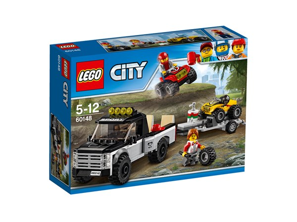 Fyrhjulingsracerteam, LEGO City Great Vehicles (60148)