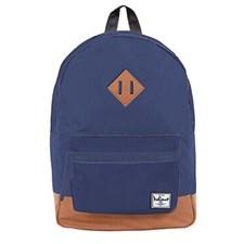 Navy blå ryggsäck