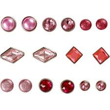 Nitar 8-18 mm Rosa Mix 16 st