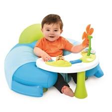 Cosy seat med lekbord, Blå, Cotoons