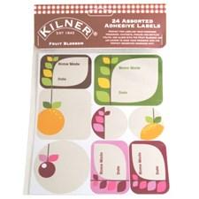 Kilner Etiketit 24 kpl Fruit Blossom