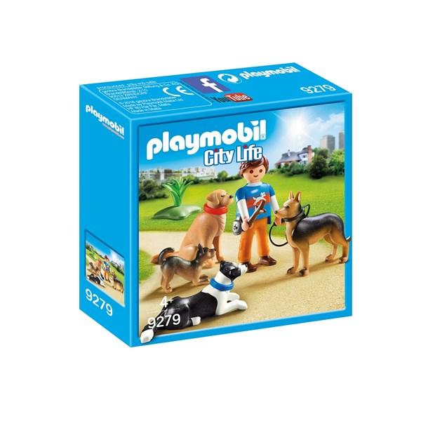 Hundtränare  Playmobil City Life (9279) - playmobil
