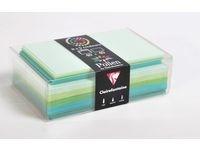 Kirjekuori C6 + kortti kevätvärit (40 kpl)