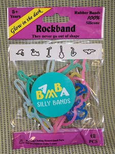 Silly Bands Rockband