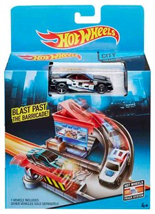 City-lekset, bil, Hot Wheels