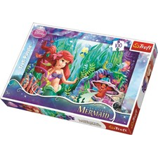 Disney Ariel hide and seek, Pussel 100 bitar, Trefl