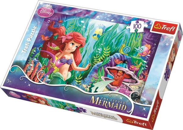 Disney Ariel hide and seek, Puslespill, 100 brikker, Trefl