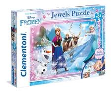 Pussel Disney Frozen Jewels, 104 bitar, Clementoni
