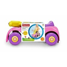 Push'n Scoot, Ride-On, Sparkebil, Rosa, Fisher-Price