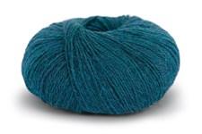 Knit At Home Superfine Alpacka Merino Garn Ullmix 50 g Blågrön Melange 114