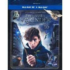 Fantastiska vidunder och var man hittar dem (Blu-ray 3D + Blu-ray)