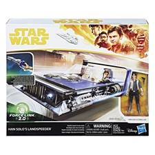 Star Wars Han Solo Playset Deluxe With Figure, Force Link 2.0