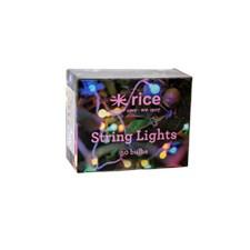 Ljusslinga LED, Flerfärgad, Rice