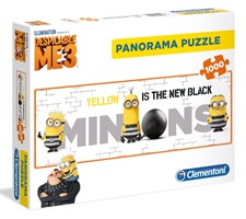 Panorama Pussel 1000 Bitar, Minioner, Despicable me 3