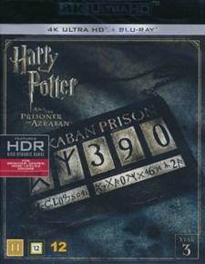 Harry Potter 3: Fången Från Azkaban - 4K Ultra HD Blu-ray