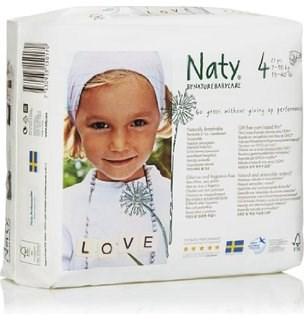 Blöjor 4 Maxi, 27 st, Naty