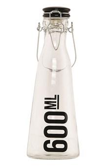 Glassflaske med keramikkork, 0,6 L, House Doctor