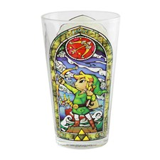 Zelda Link Glass