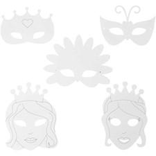 Prinsessanaamiot, kork. 13,5-25 cm, lev. 17-25 cm, 16kpl, 230 g