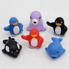 Polardjur för badet, 6 delar, Rätt Start