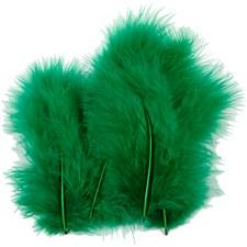 Dun, str. 5-12 cm, 15 stk., grønn