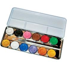 Ansiktsfärg Palett 12 Färger