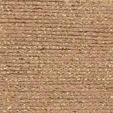 Rico, Fashion Cotton Métallisé, Garn, Bomullsmiks, 50 g, Gold 003