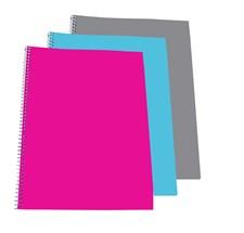 3-pack Kollegieblock A4 Linjerat med 70 sidor
