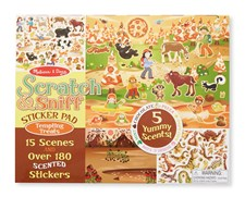 Scratch & Sniff Sticker Pad - Tempting Treats