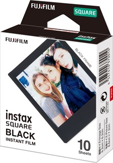 FILM INSTAX SQUARE BLACK FRAME