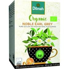 Dilmah Te Earl Grey Tepåsar 20 st Ekologisk