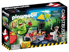 Slimer With Hot Dog Stand, Playmobil Ghostbusters (9222)