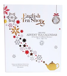 English Tea Shop Adventskalender Vit Ekologisk
