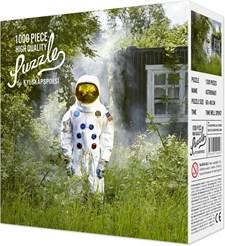 Pussel 1000 bitar, Astronaut, Kylskåpspoesi