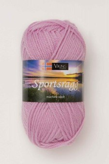 Viking of Norway Sportsragg 50 gr roosa