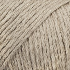 Bomull- Lin Drops design 50 g beige 11