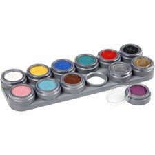 Ansiktsfärg Palett 12x2,5 ml