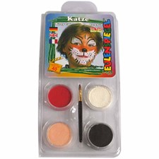 Ansiktsfärg Motiv Katt 1 Set