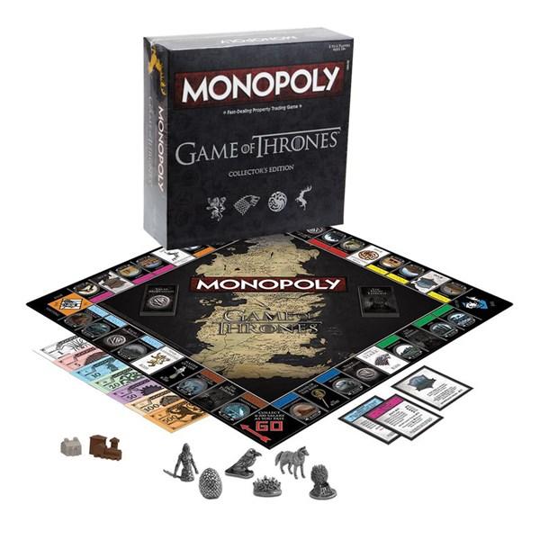 Monopoly Game of Thrones, Collectors Edition (EN)