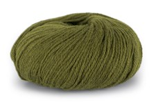 Du store Alpakka Mini Sterk Garn Ullmix 50 g Grønn 812