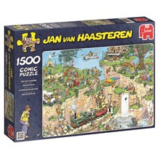 Jan van Haasteren, The golf course, Pussel 1500 bitar