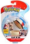 Pokémon Clip N Go, Rockruff & timer ball