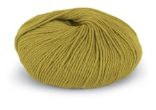 Du store Alpakka Mini Sterk Garn Ullmix 50 g Gulgrønn 843