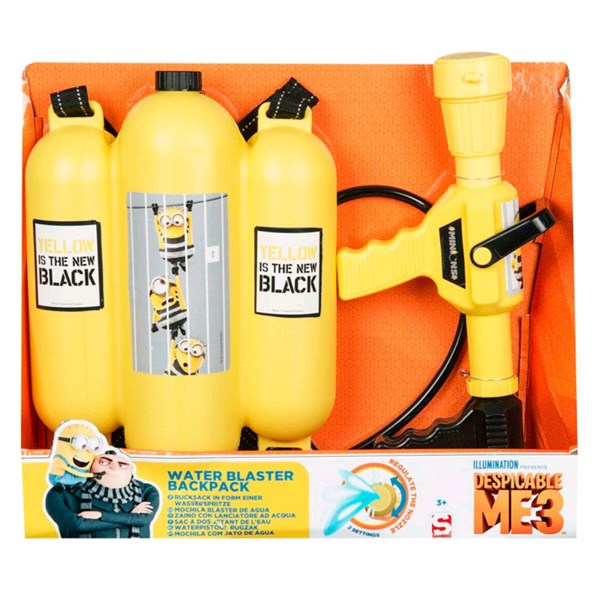 Water Blaster Backpack  Minions - uteleksaker & sportleksaker