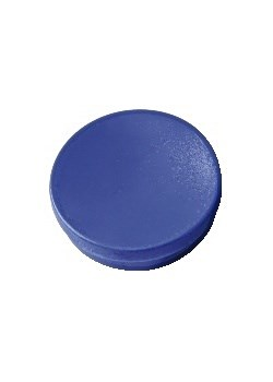 Magnetknappar 25 mm Blå 10 st