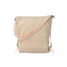 Ceannis Walnut Collection Shoulder Bag Off White