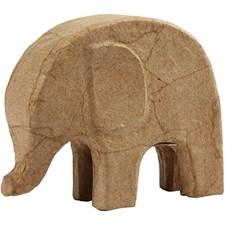 Elefant , H: 14 cm, L: 17 cm, 1stk.