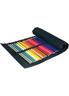 Träfärgpennor i Rulletui 36 st
